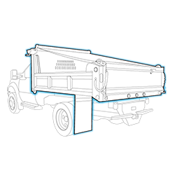 Dump Body at Duval Commercial Vehicle Solutions in Northern Florida