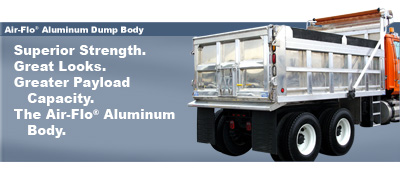 Air-Flo Aluminum Dump Body